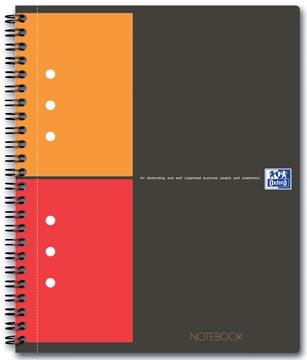 Oxford INTERNATIONAL Notebook, 160 bladzijden, ft A5+, geruit 5 mm