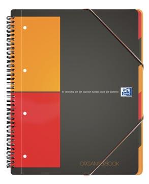 Oxford INTERNATIONAL organiserbook, 160 bladzijden, ft A4+, geruit 5 mm