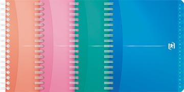 Oxford Office My Colours addressbook, 160 bladzijden, ft 12 x 14,8 cm, geassorteerde kleuren