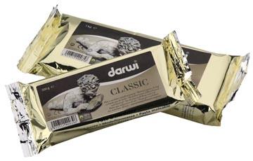 Darwi boetseerpasta Classic, pak van 1 kg, wit