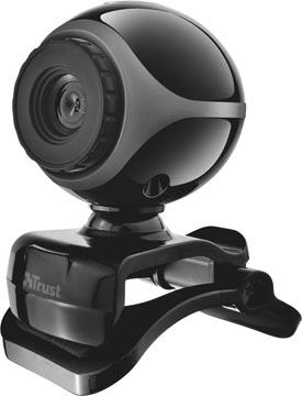 Trust Exis webcam, met ingebouwde microfoon