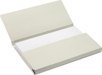 Jalema Secolor Pocketmap voor ft folio (34,8 x 23 cm), grijs