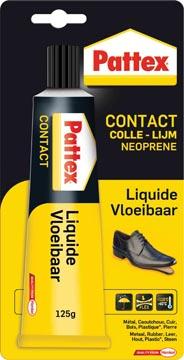 Pattex contactlijm Vloeibaar, tube van 125 g, op blister