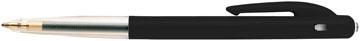 Bic balpen M10 Clic schrijfbreedte 0,4 mm, medium punt, zwart