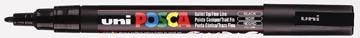 uni-ball Paint Marker op waterbasis Posca PC-3M zwart