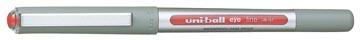 Uni-ball roller Eye Fine en Micro Fine, schrijfbreedte 0,5 mm, punt 0,7 mm, rood
