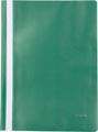 Pergamy snelhechtmap, ft A4, PP, pak van 5 stuks, groen