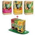 Actie Cup-a-Soup: 3 x soep (selectie van smaken) + 1 x GRATIS Cup-a-Soup carroussel